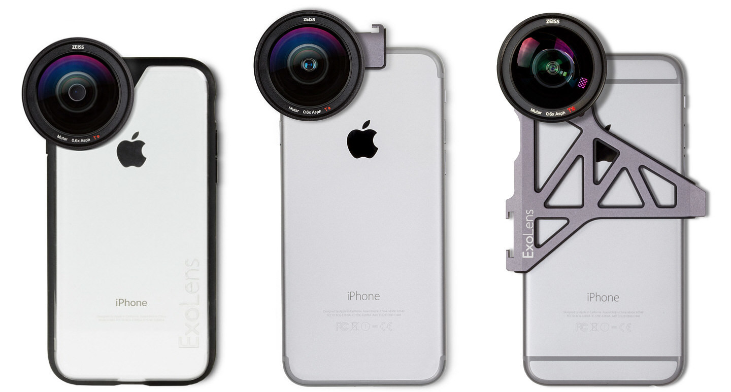 best website d1b52 56f0e New mounts add convenience for iPhone users of Zeiss ExoLens PRO ...
