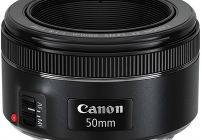 Canon's f/1.8 50mm STM