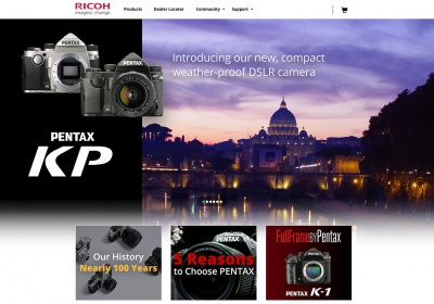 Ricoh website