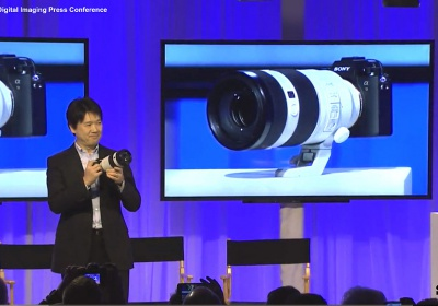 Sony A9 media event