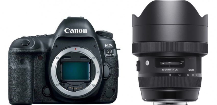 Canon EOS 5D Mark IV and Sigma 12-24mm zoom