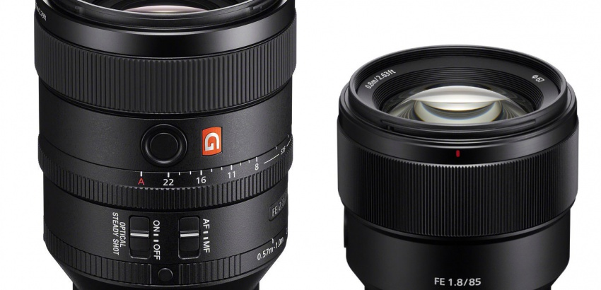 Sony FE 100mm and 85mm