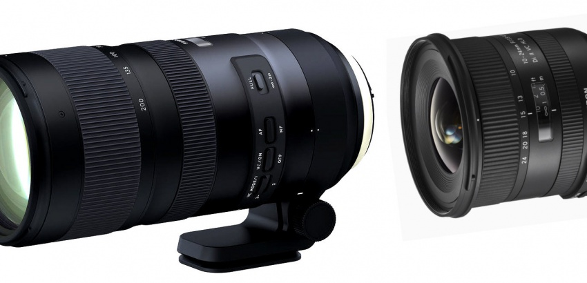 Tamron 70-200mm and 10-24mm