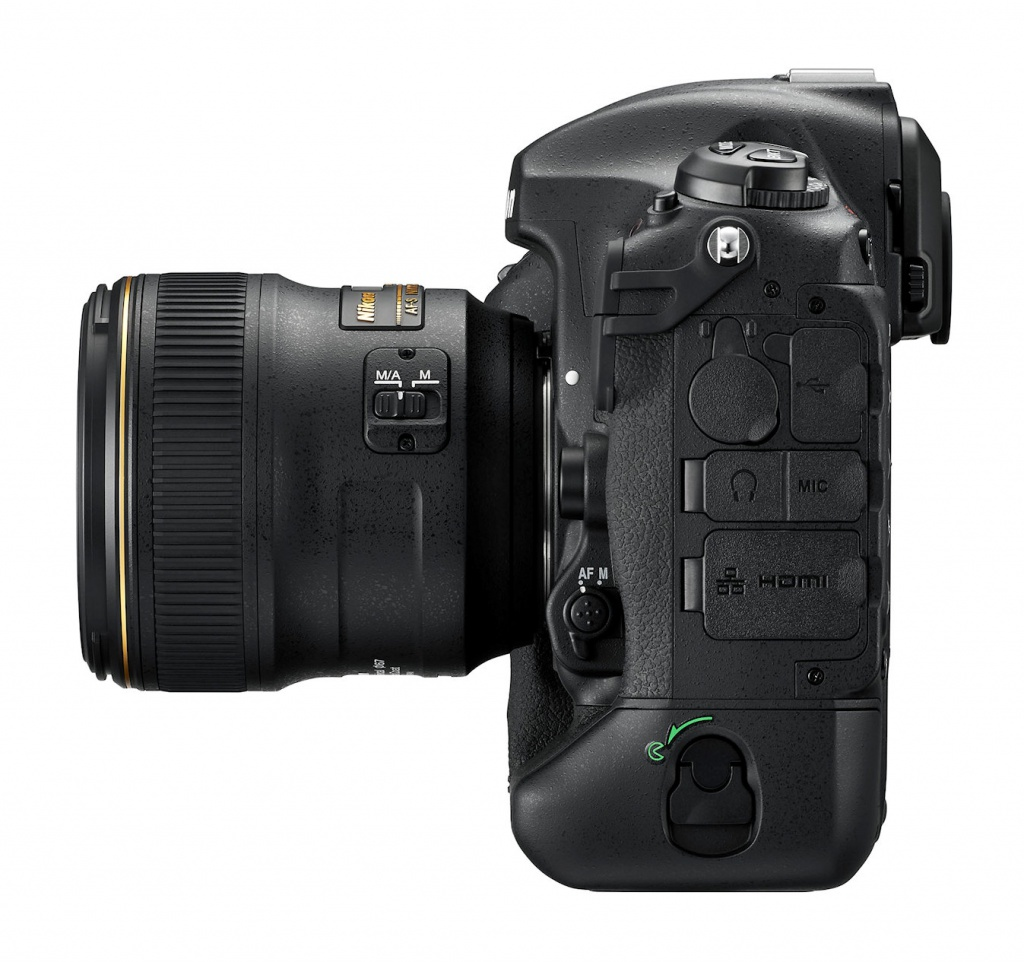 The port covers for the Nikon D5.