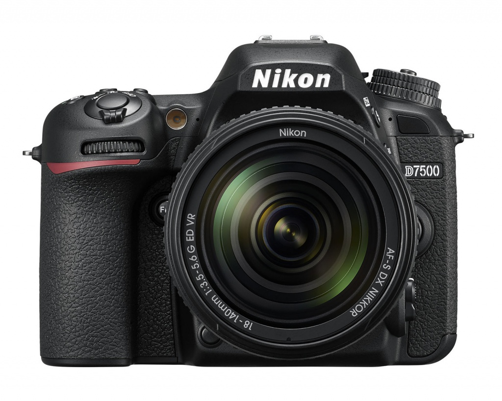 The Nikon D7500 can shoot at up to 8 frames per second.