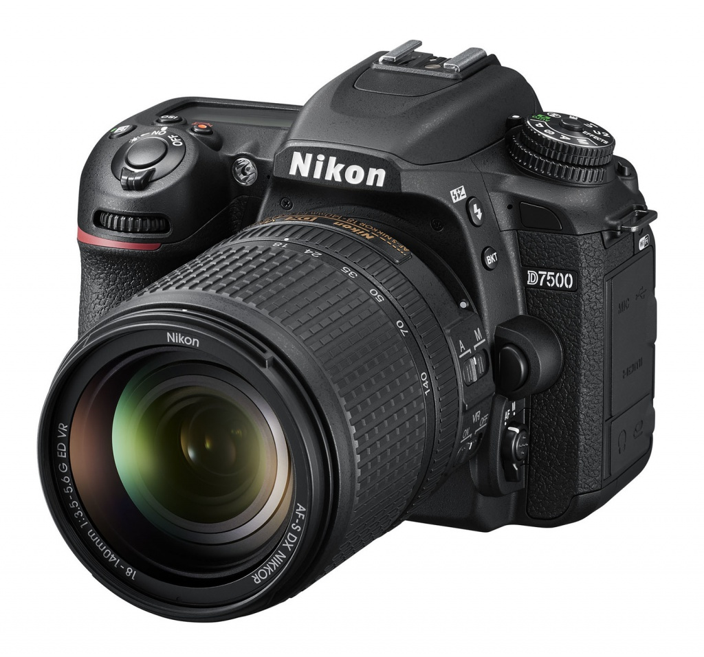 The Nikon D7500 is intended for advanced amateurs.