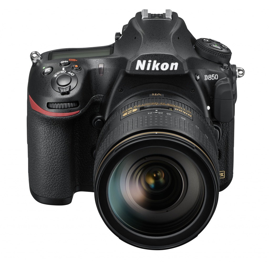 The Nikon D850 and the 24-120mm lens.