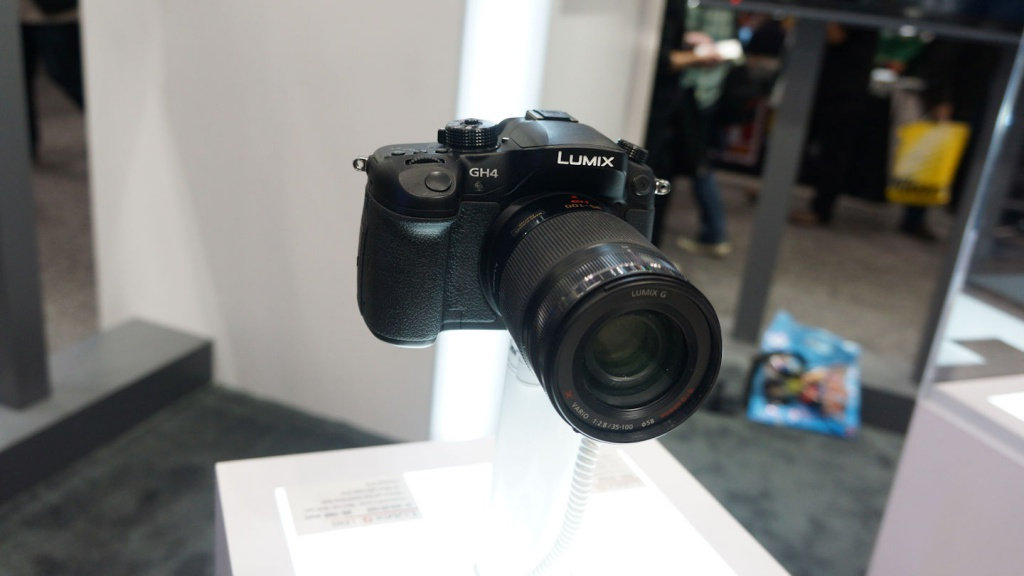 Panasonic is targeting film makers with its Lumix GH4.