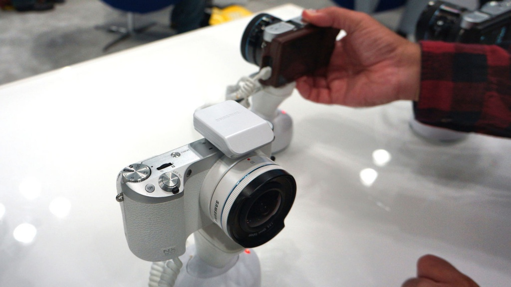 Samsung's NX series is stylish and looks great in white.