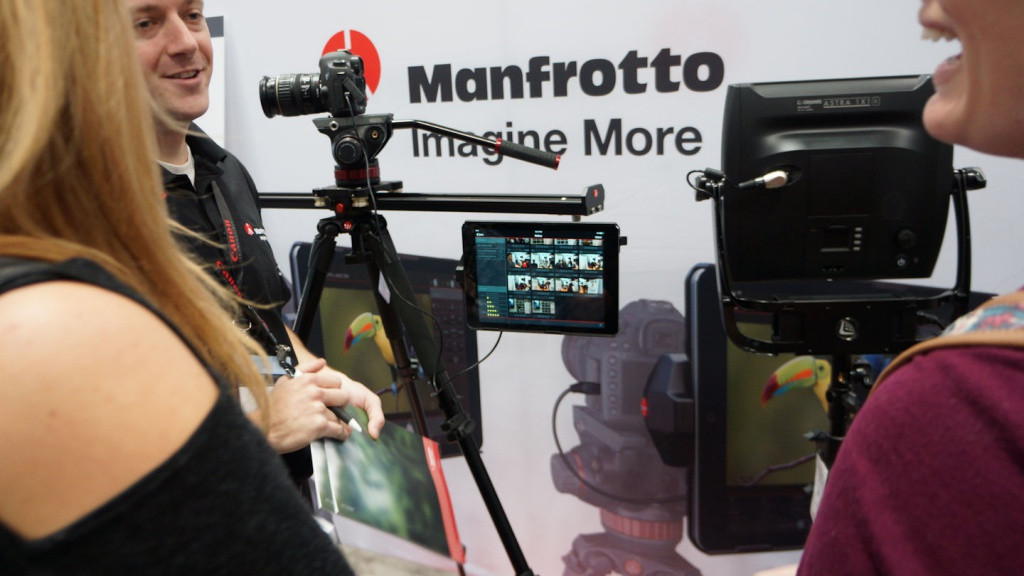 Manfrotto continues to branch out, offering camera-control systems.