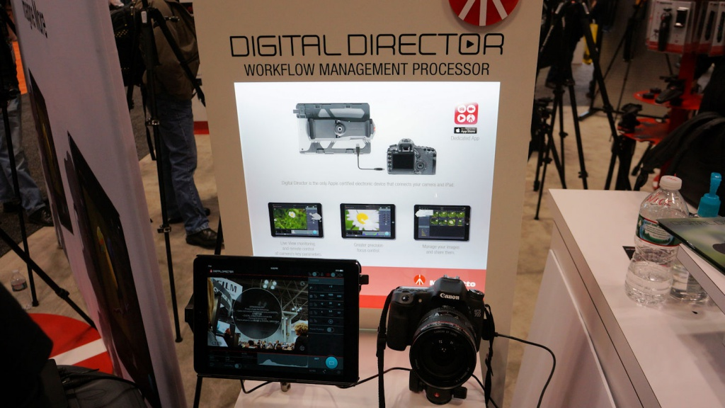 Manfrotto's Digital Director is another product that has the company stepping outside of its traditional offerings.