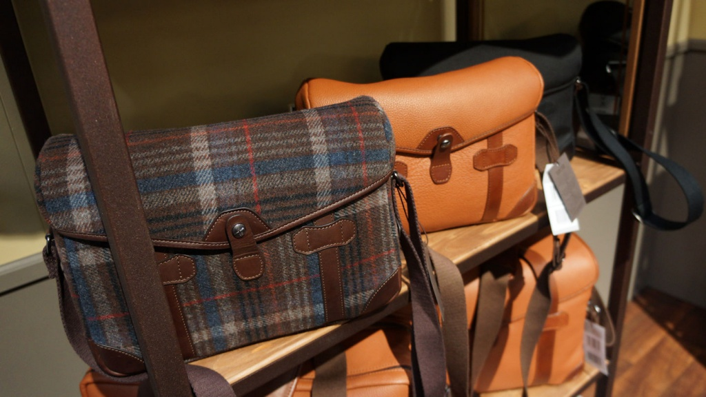 Barbershop makes stylish camera bags who want more than the usual offerings.