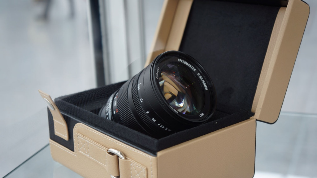 Zhongyi produces an f/0.95 50mm lens for the Sony E mount.
