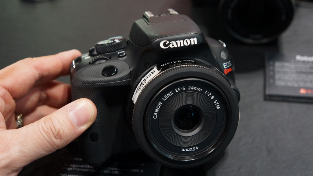 Canon's smallest DSLR - the EOS Rebel SL1