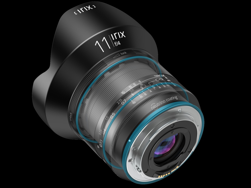 This composite image shows the weather sealing of the Irix f/4.0 11mm.