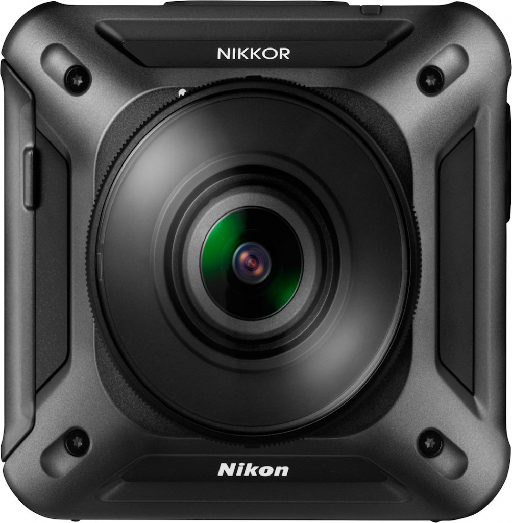 KeyMission 360 is Nikon's first product for the action-camera market.