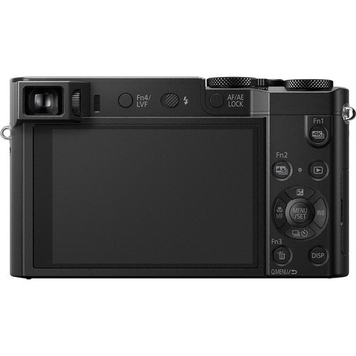 The LCD and controls for the Panasonic Lumix DMC ZS100.
