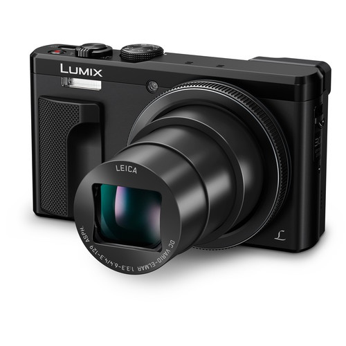 Panasonic Lumix DMC ZS60 ready to take photos.
