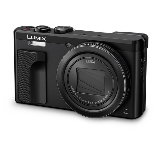 Panasonic Lumix DMC ZS60 with its lens retracted.