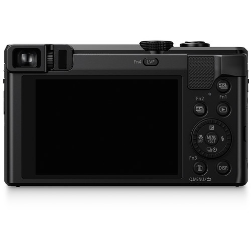 The LCD and controls for the Panasonic Lumix DMC ZS60.