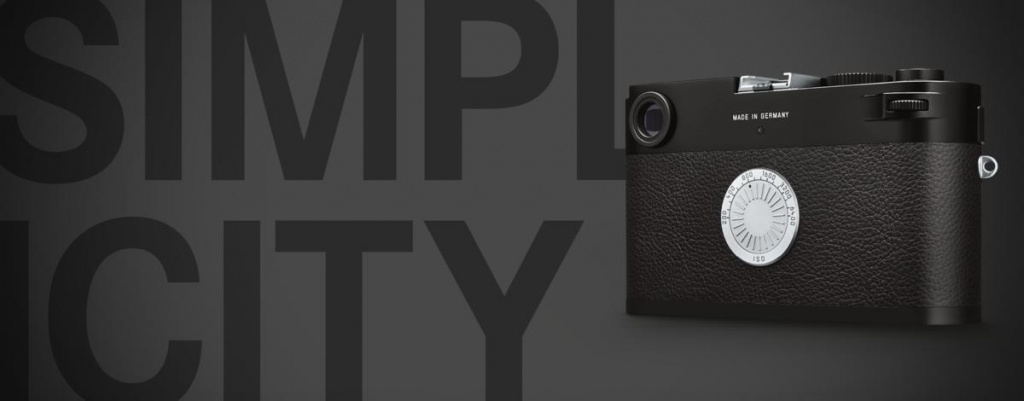 A promotional photo of the Leica M-D (Typ 262).