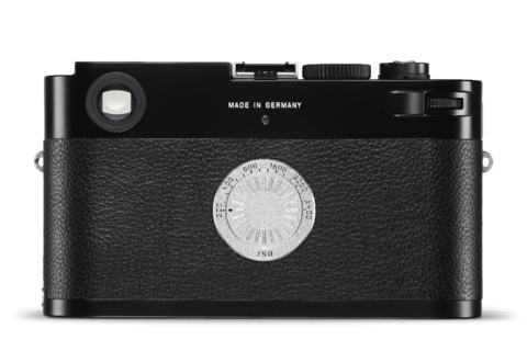 The back of the Leica M-D (Typ 262) has only the ISO dial. Remember, this is a digital camera.