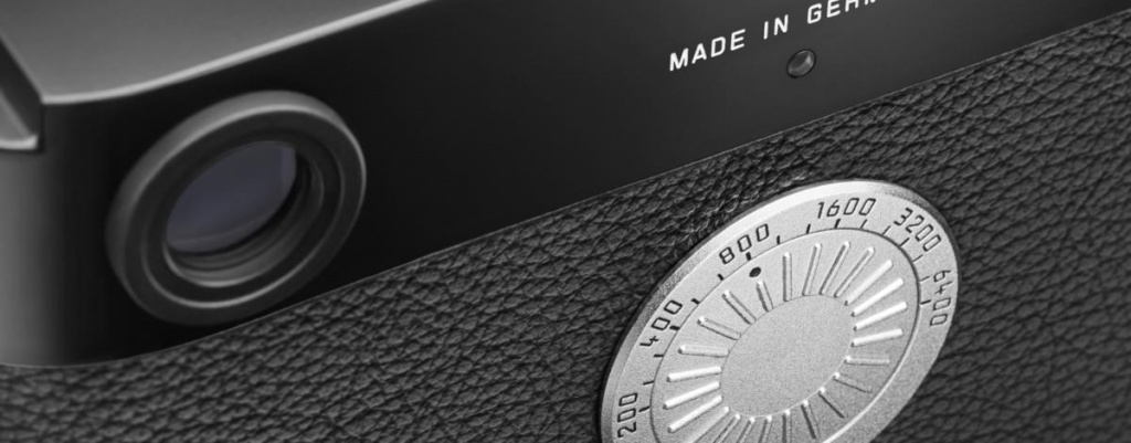 A closer view of the ISO dial of the Leica M-D (Typ 262).