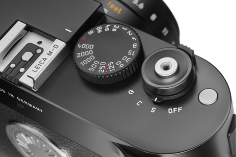 A closer look at the shutter speed and shutter release of the Leica M-D (Typ 262).