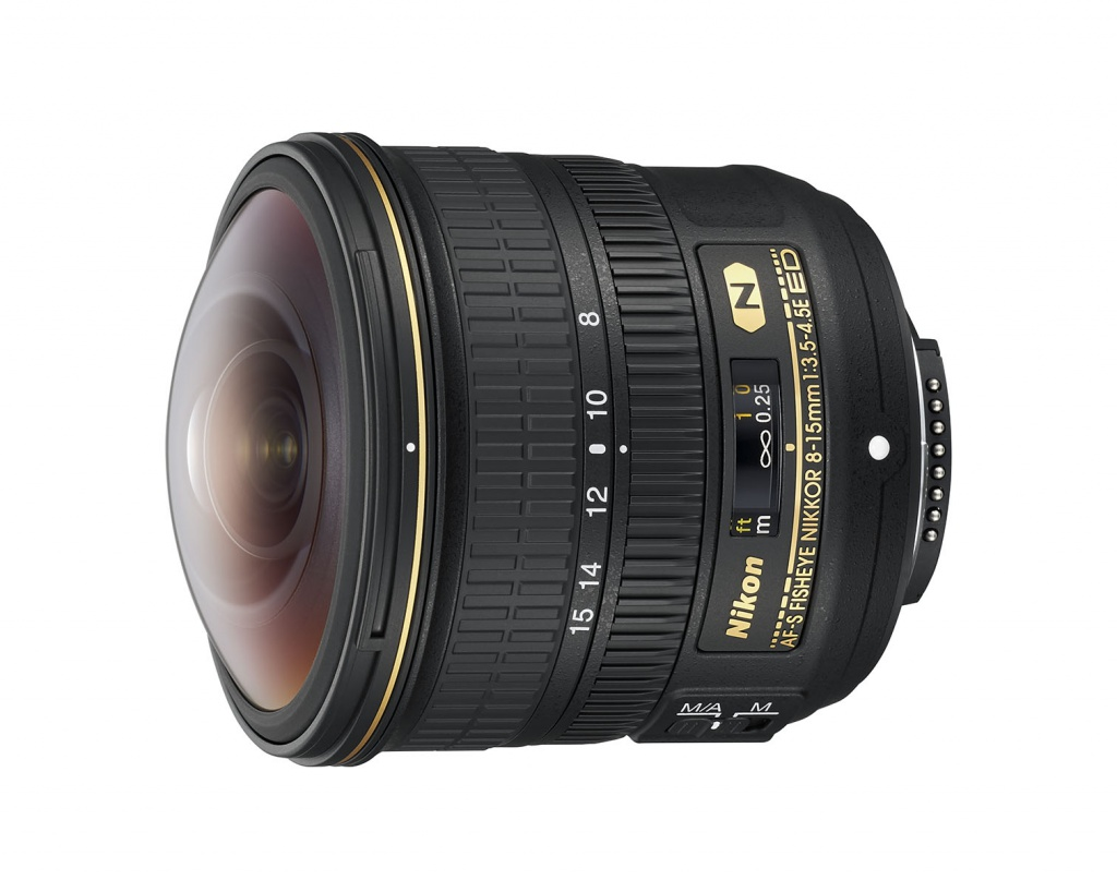 The Nikkor 8-15mm cannot use a filter because of its large front element.