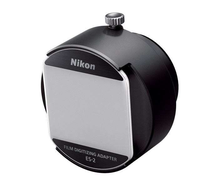 The Nikon ES-2 allows the D850 to act as a negative or slide scanner.