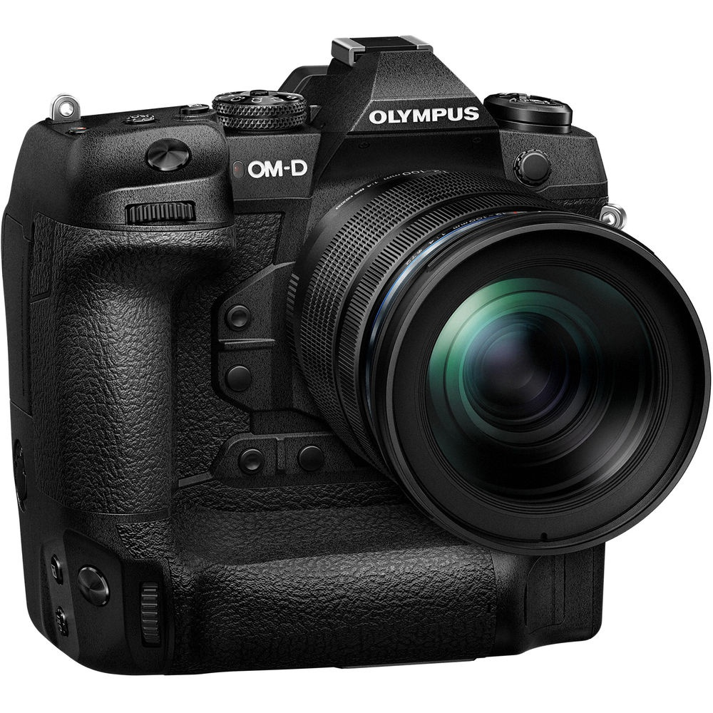 The Olympus OM-D E-M1X is the company's first pro-level Micro Four Thirds camera.