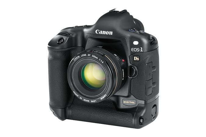 The Canon EOS 1DS wasn't first full-frame DSLR, but it certainly continues to be one of the best-selling.