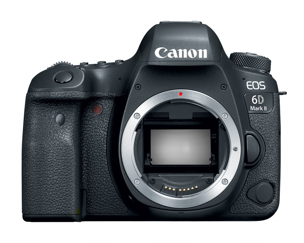 The Canon EOS 6D Mark II uses a 26.2-MP CMOS sensor
