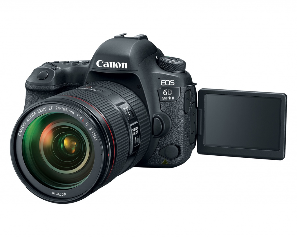The Canon EOS 6D Mark II has a 3.0-inch Vari-angle touch-enabled LCD monitor.