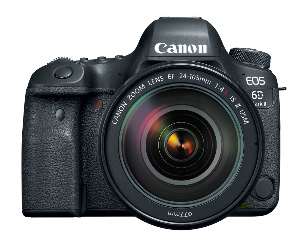 The Canon EOS 6D Mark II with the EF 24-105mm kit lens.