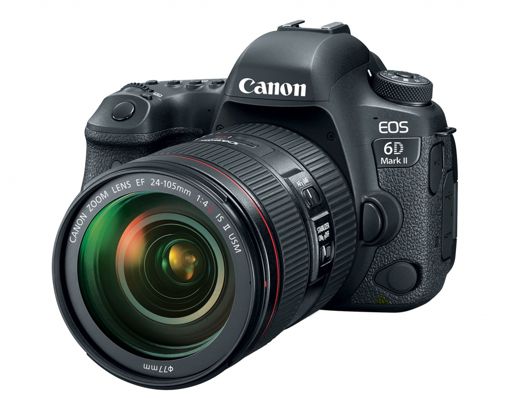 The Canon EOS 6D Mark II does not have a built-in flash.