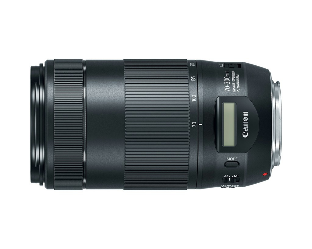 The Canon EF 70-300mm f/4.5-5.6 IS II USM uses NANO USM autofocus.