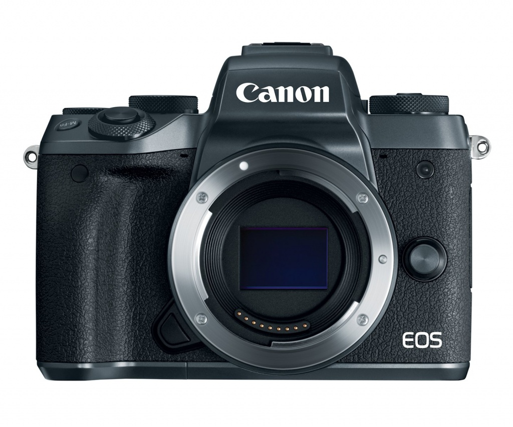 The Canon EOS M5 has a 24.2-MP CMOS sensor.