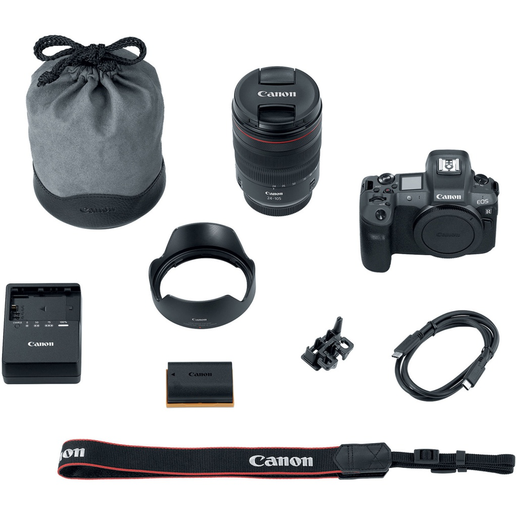 The Canon EOS R kit.