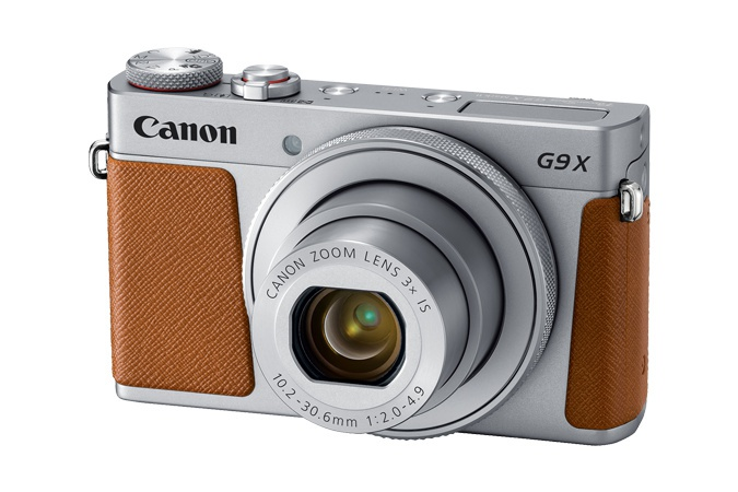 The Canon PowerShot G 9 X Mark II will be available in this brown and silver color scheme, as well as all black.