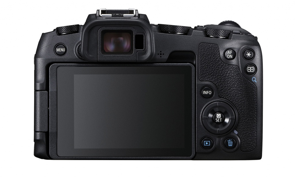 The Canon EOS RP has a touch-enabled LCD monitor and electronic viewfinder.