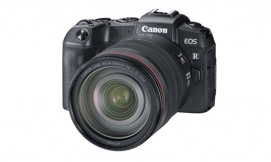The Canon EOS RP can be purchased as body only or with the 24-105mm lens.