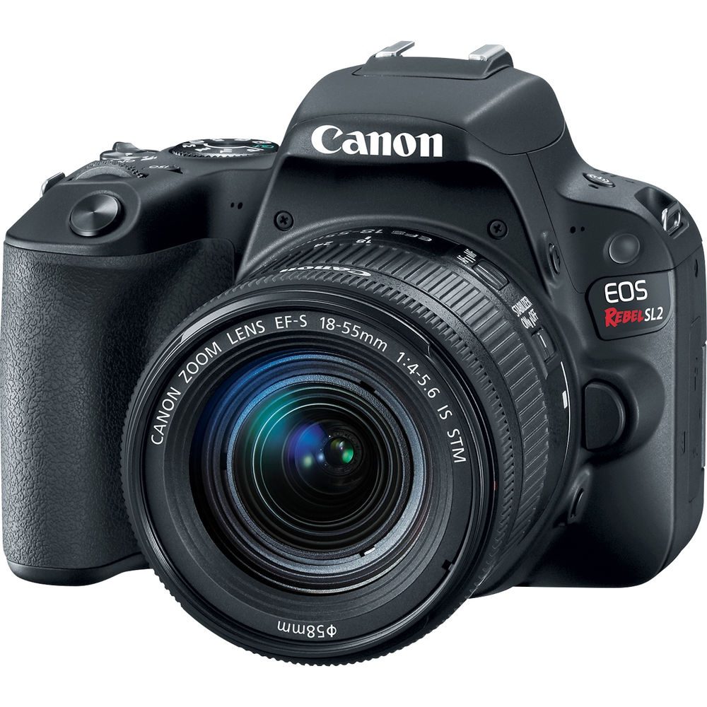 The Canon EOS Rebel SL2 is an entry-level DSLR.