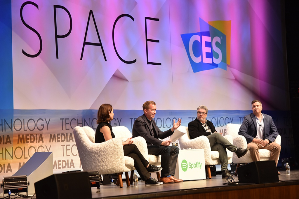 A C Space panel at CES 2017. (CES 2017)