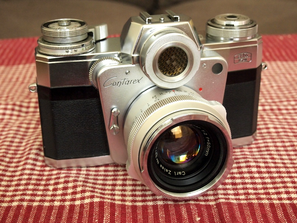 "The Zeiss Ikon Contarex was not a handsome machine despite being fitted with top-rated Carl Zeiss lenses. Yes, it takes excellent photos, and it's very reliable today – more than 60 years after its introduction. However, if one of your nicknames is ""Cyclops,"" well, you don't really need to say anything else."