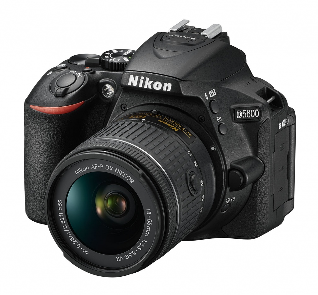 The Nikon D5600 is a mid-level DSLR that will now be available in the U.S. and Canada.