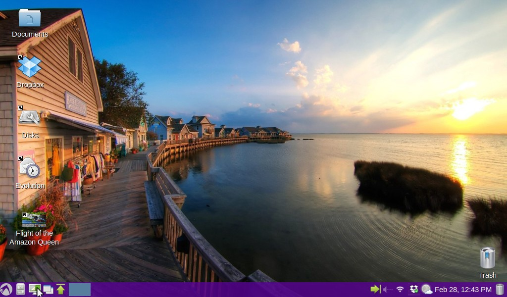 There are plenty of Linux desktop wallpapers.