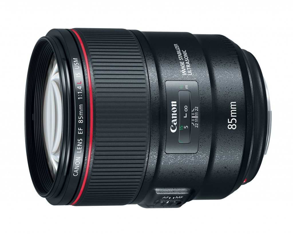 The Canon EOS EF f/1.4 85mm L can be used with full-frame and APS-C cameras.
