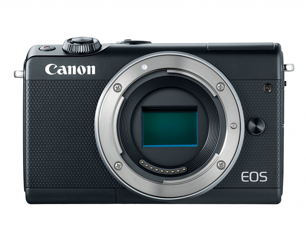 The Canon EOS M100 has a 24.2-MP CMOS sensor.