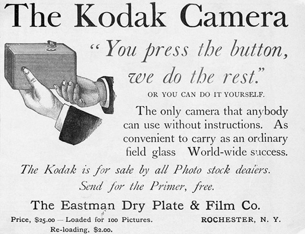 George Eastman promised to bring photography to the average person with the Kodak camera, and he did exactly that.